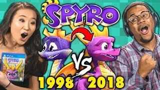 SPYRO Old vs New (1998 vs 2018) | React: Gaming