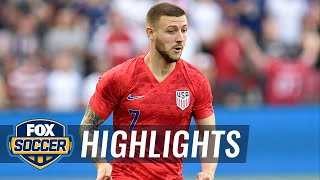 Paul Arriola gives USMNT the lead vs. Guyana | 2019 CONCACAF Gold Cup Highlights