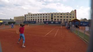 WTA Players Practice Prague Open 30.4.2017-Part I