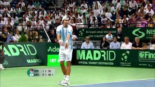 Davis Cup Highlights: Serbia 2-3 Argentina