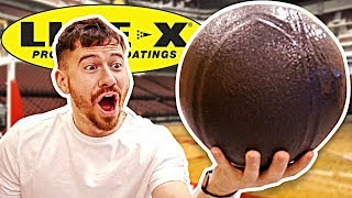 UNBREAKABLE LINE-X BASKETBALL EXPERIMENT!!