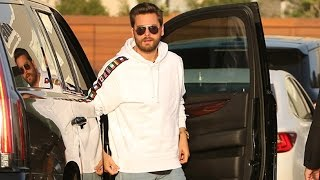 Scott Disick And Penelope Get Dinner With Nori And Kris Jenner