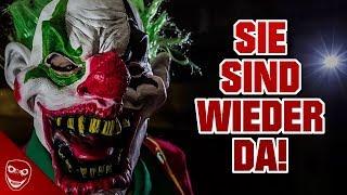 Es ist offiziell! Die Horror-Clowns sind zurück!