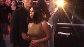 Kim Kardashian Attends Promise Premiere