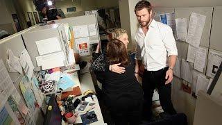 Ellen and Chris Hemsworth