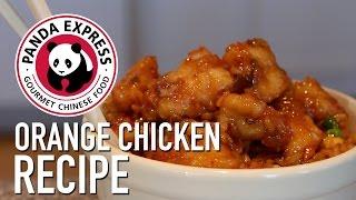 DIY Panda Express Orange Chicken - Feat. Mom