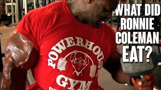 What Does Ronnie Coleman Eat in 1 Day? | Remastered 1080 HD