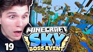 KOMPLETTE STADT ZERSTÖRT! KAMPF GEGEN 10 ENDERDRACHEN! ✪ Minecraft Sky BOSS EVENT  #19   Paluten