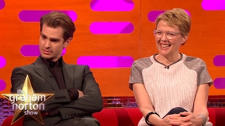 Annette Bening Received a Lovely Gift from Whoopi Goldberg - The Graham Norton Show