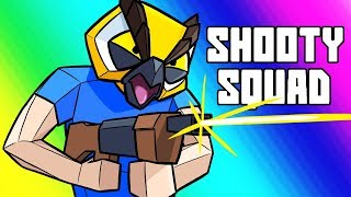 Shooty Squad Funny Moments - Raging Tryhard Match!!