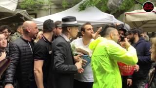 """Backstage canzone """" Senza pagare"""" a Foggia - J-Ax con Pio e Amedeo"""