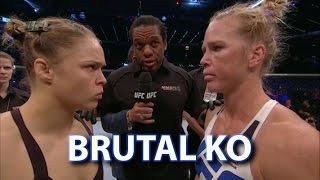 Holly Holm Shocks Ronda Rousey via Brutal Head Kick - Post Fight Thoughts and Analysis