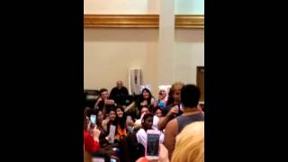 Vic asked to scream as Broly at Supercon 2015