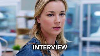 "The Resident (FOX) ""Emily VanCamp"" Interview HD - Emily VanCamp, Matt Czuchry Medical drama series"