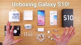 Galaxy S10 Unboxing - What