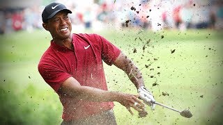 See every shot of Tiger Woods