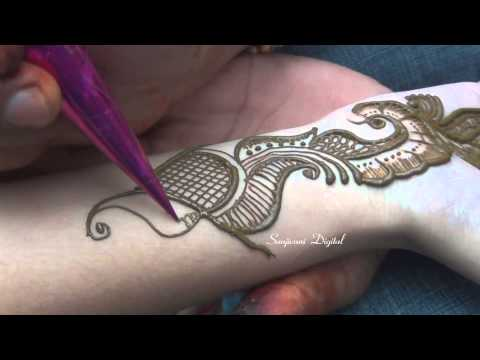 Latest Arabic Bridal Mehndi Design For Feet Easy Simple