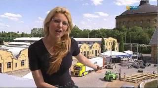 maira rothe backstage bei mdr leipzig - Maira Rothe Lebenslauf