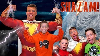 Paxton is Shazam Ninja Kidz TV