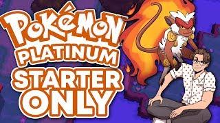 Beating Pokemon Platinum Using Only My Starter