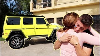 WE MADE HIM CRY...THIS IS HIS DREAM CAR!!!