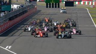 2017 Japanese Grand Prix: Race Highlights