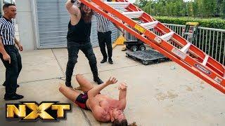 Matt Riddle and Killian Dain brawl outside the arena: NXT Exclusive, Aug. 21, 2019