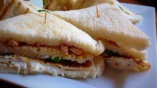 Chicken club sandwich recipe by ( HUMA IN THE KITCHEN)