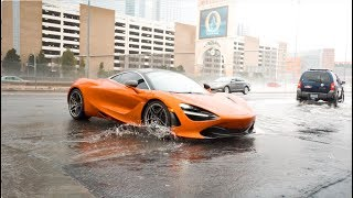 SUPERCARS CAUGHT IN LAS VEGAS FLOOD!
