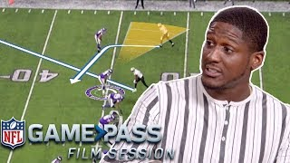 Xavier Rhodes Breaks Down How to Guess Routes, His Technique, and Today