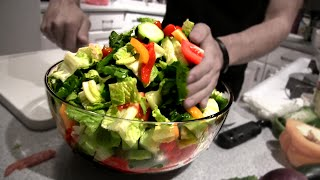 Epic Greek Salad (4,000 Calories)
