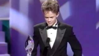 Neil Patrick Harris wins People Choice Awards 1990