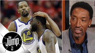 Scottie Pippen compares Durant-Draymond tension to