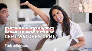 Demi Lovato Reacts to Demi Lovato