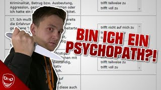 Bin ich ein Psychopath?! | Ich mache den Selbsttest!