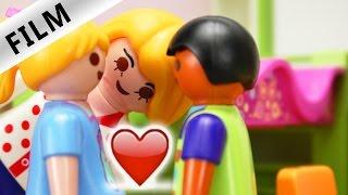 Playmobil Film Deutsch - HANNAH + DAVE WOLLEN KNUTSCHEN! KEINE RUHE VOR FAMILIE VOGEL! Kinderserie