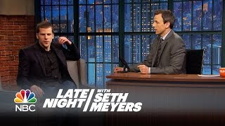 Cut for Air: Jesse Eisenberg, Leslie Jones, John Slattery - Late Night with Seth Meyers