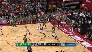 3rd Quarter, One Box Video: Portland Trail Blazers vs. Boston Celtics