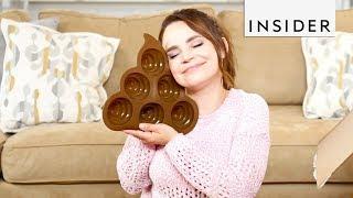 Rosanna Pansino Created This Emoji-Shaped Baking Mold