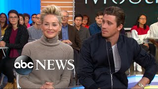 Sharon Stone and Garret Hedlund open up about