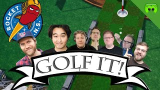 Rocket Beans vs PietSmiet 🎮 Golf it! #39