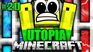 ICH werde EINGESPERRT?! - Minecraft Utopia #020 [Deutsch/HD]