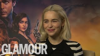 Emilia Clarke: Who's The Best Kisser, Jon Snow or Han Solo?   GLAMOUR UK