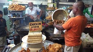 Chicken Kabab 30 Rs   Fish Shami Kabab 25 Rs   Shahi Tukda 25 Rs    Street Food Jama Masjid Delhi