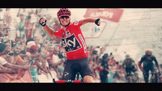 ●Best Of Chris Froome Vuelta España 2017●