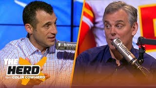 Doug Gottlieb joins Colin to give NFL Playoff picks, talks Adam Gase and Kingsbury | NFL | THE HERD