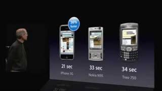 WWDC San Francisco 2008-iPhone 3G Introduction (Pt. 1)