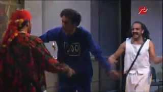 """مسرح مصر - رقص محمد عبد الرحمن واوس اوس على أغنية """"يا حبيبى ابعد عنى"""""""