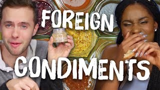 Americans Try Foreign Condiments (Cheat Day)