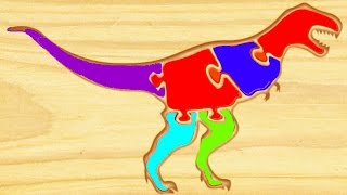 Dinosaur Kids Games - Kids Learn ABC Dinosaurs - Educational Videos for Kids - First Kids Puzzles